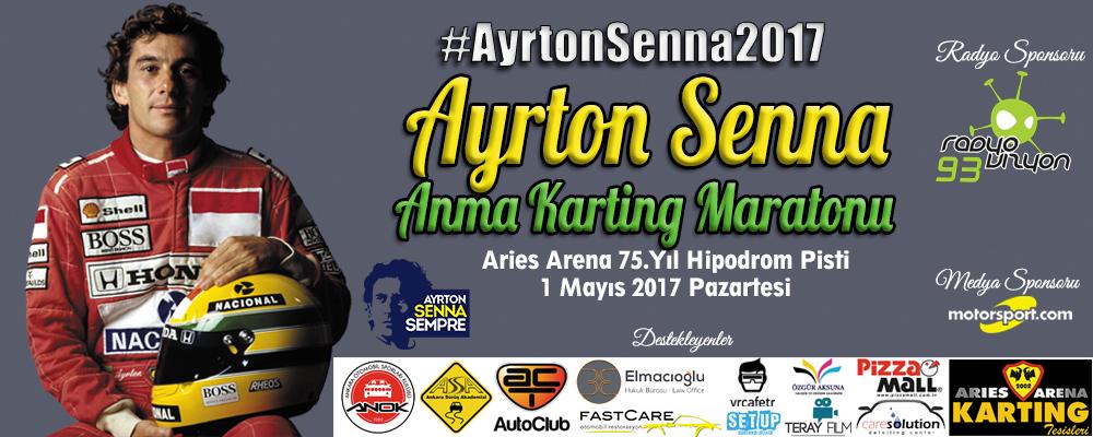 Ayrton Senna Anma Karting Maratonu 2017