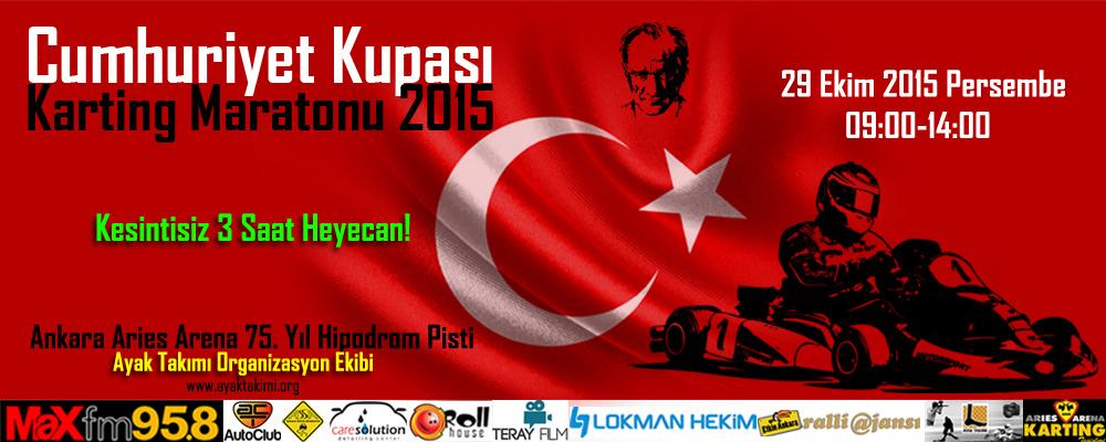 Cumhuriyet Kupası Karting Maratonu 2015